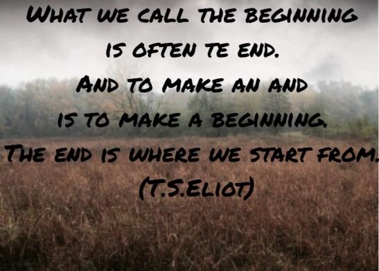 Ogni traguardo non è che un nuovo inizio..
