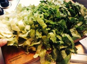 Conservare l'insalata - fase 3
