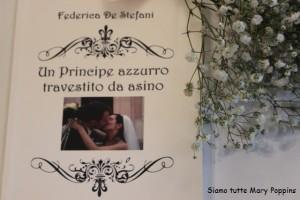 Il libro scritto da Federica per suo marito