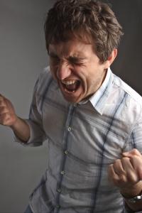 un grido di rabbia