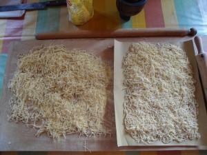 maccaruni di gavignano caratterizzati dal taglio molto sottile