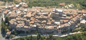 Gavignano, veduta aerea - foto tratta dal web