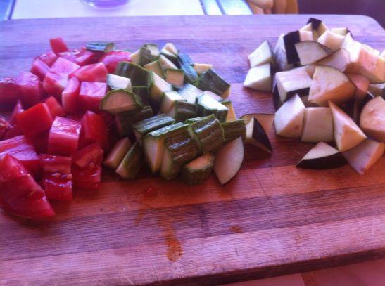 dadolata di verdure