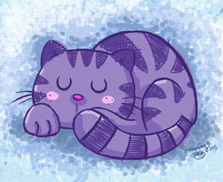 gattino viola - immagine da frog-frogbr.deviantart.com