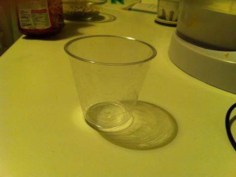 un vasetto come unità di misura - andrà bene un vasetto da yogurt