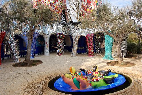Posti da bambini e non solo il giardino dei tarocchi di niki de saint phalle movimento - Il giardino dei tarocchi ...