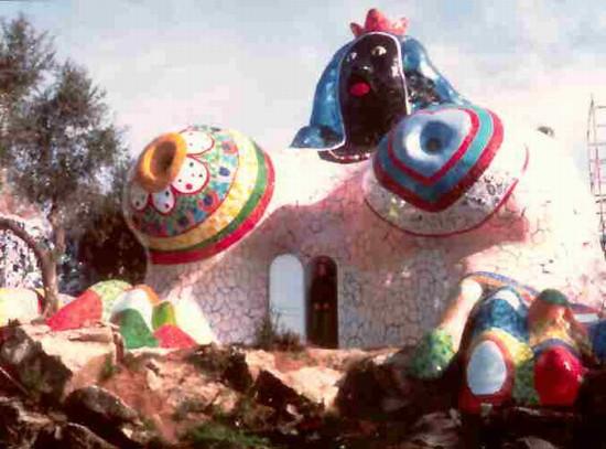 Posti da bambini e non solo il giardino dei tarocchi di niki de saint phalle movimento - Capalbio giardino dei tarocchi ...