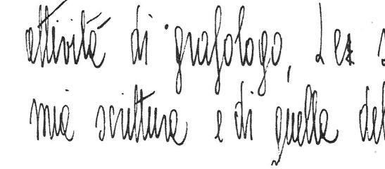 """particolare di immagine da """"grafologia e neuroscienze"""""""