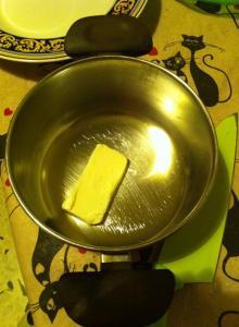 torta salata burro