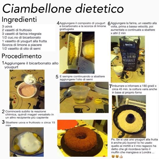 ciambellone dietetico